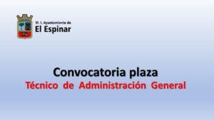 Ayto El espinar Tec admon gral mar-2021