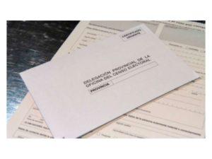 en riesgo voto correo